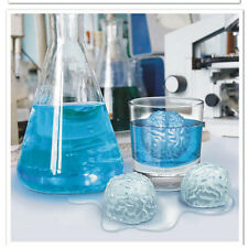 Silicone Brain Shape Bar Ice Cube Freeze Mold Mould Maker Tray Halloween Party