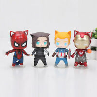 Avengers Cat figures action figurines MARVEL Superheroes CAT Version toy