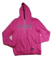 Men hudson pullover Hoodie size LARGE 100%AUTHENTIC breaded drippin hoodie Pink