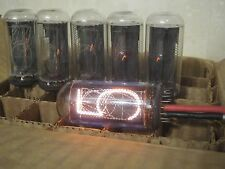6x IN-18 IN18 THE BIGGEST USSR NIXIE TUBE for CLOCK (IN-14, Z568M) TESTED - 100%