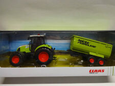 Herpa 84184015 CLAAS ARION 540 Traktor mit Kippanhänger Trecker 1:32 Neu
