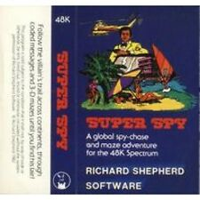 Super Spy for Spectrum by Richard Shepherd Software on Tape