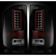 RECON 264298BK Chevy Silverado 16-17 1500 2500 3500 Smoked Tail Lights LED