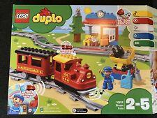 LEGO DUPLO 10874 Dampfeisenbahn Komplett + Karton + Anleitung