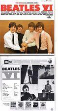 ★☆★ CD The BeatlesBEATLES VI | Mini LP Mono & StereoCD ★☆★