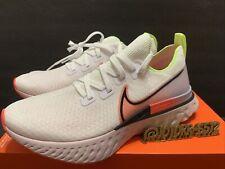 Nike React Infinity Run Flyknit Running Shoes White CW5636-100 Women's Size 12
