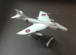 Hawker Hunter 1:120 Scale Diecast Model Postage Stamp Plane