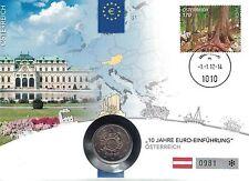Gelegenheitsausgabe Euro Gedenkmünzen aus Österreich