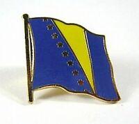 Bosnien-Herzegowina Flaggen Pin Anstecker,1,5 cm,Neu mit Druckverschluss