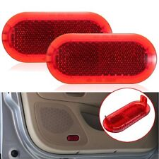 Pair Door Warning Light Lamp Reflector For VW Beetle Caddy Polo Touran 6Q0947419