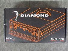 NEW DIAMOND AUDIO MICRO2V2 2-CHANNEL MINI AMP MICRO2-V2 500W RMS HARLEY DAVIDSON