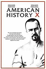 American History X Movie Sheet Poster 24x36 inch New *Fast Shipping*