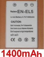Batterie 1400mAh type CP1 EN-EL5 ENEL5 Pour Nikon Coolpix 3700