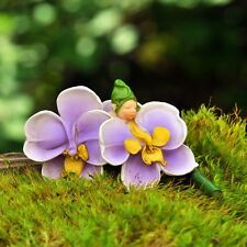 Fiddlehead Fairy Garden Miniature ORCHID FLOWER BABY