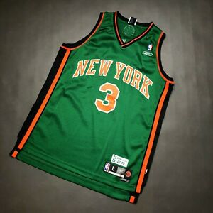 100% Authentic Stephon Marbury St. Patrick's Day Jersey Size L Mens