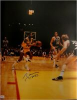 Norm Nixon Hand Signed Autograph 16x20 Photo Los Angeles Lakers Passing PSA/DNA