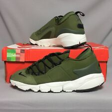 Nike Air Footscape NM UK10.5 852629-300 EUR45.5 US11.5 Legion Green olive woven