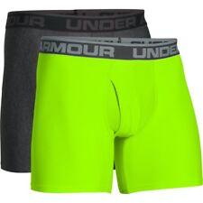"Under Armour 2018 Mens O-Series 6"" BoxerJock 2 Pack Sports Underwear"