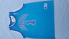 Vintage Mugsy Bogues Charlotte Hornets Champion NBA Jersey Size 48 New Old Stock