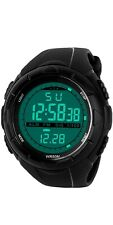 Mens Sports Digital Watch - 5 Bars Waterproof Military Digital Watches Alarm  A