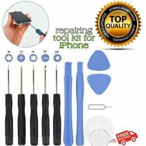 Mobile Repair Fix Prying Tool Kit Screwdriver For iPhone X XR XS Max 8 7 6 Plus