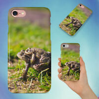 AMPHIBIANS ANIMALS FROGS GRASS HARD BACK CASE FOR APPLE IPHONE PHONE