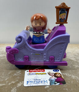 Fisher Price Little People Disney Princess Anna Frozen Parade Float