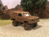 1977 Dodge Ramcharger 4x4 Truck Custom 1/64 Diecast 4WD Mudder Mud Bog Off Road