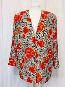 Details about  /vintage 90s jacket ice blue silk soutache crochet cutwork sheer beaded duster M