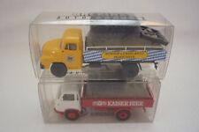 Brekina - werbemodelle - 2 Camion / Man / BORGWARD - 1:87 H0 emballage d'ORIGINE