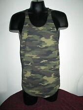Physique Bodyware Y-Back Stringer tank top Green CAMO (XXL)