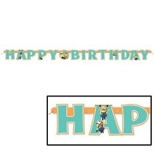 Despicable Me 2 Minions Happy Birthday Banner