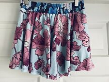 Maaji swimwear skirt, size 16 girls, orig $56, Blue Floral