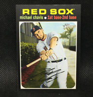 SP! 🚨Michael Chavis 2020 Topps Heritage High Number #500 Boston Red Sox