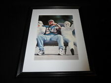 Zach Thomas & Crash Test Dummy Framed 11x14 Photo Display Dolphins