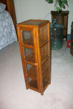 Wood and Wire Tower Display Curio Cabinet..........plants.....