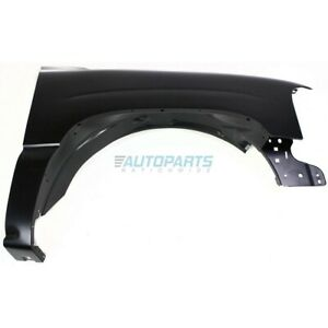 NEW FRONT RIGHT FENDER FITS 1999-2006 GMC SIERRA 1500 GM1241281