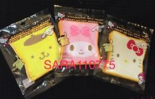 iBLOOM SANRIO AROMATIC MILK TOAST SQUISHY HELLO KITTY POMPOMPURIN MY MELODY SET