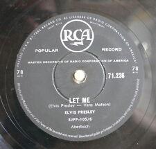 Elvis Presley / Let Me & I Got Stung (176-0913)