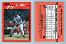 Greg Maddux - Cubs #158 Donruss 1990 Baseball Trading Card