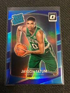 2017-18 Donruss Optic JAYSON TATUM PURPLE PRIZM HOLO RATED RC #198 Celtics