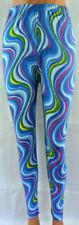Markenlose mehrfarbige Damen-Leggings Hosengröße XL