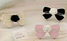 3pcs fashion Fashion cute resin rose flower oil bow finger ring