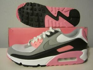 (CD0881 101) NIB Nike Air Max 90 RECRAFT white/rose pink sz 9.5 Mens $120 retro