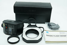 Minolta Macro Ring Flash 1200AF Set - Cased with Instructions