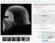 1 Star Wars The Force Awakens Kylo Ren Prop Full Helmet 1:1