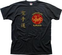 SHOTOKAN KARATE Martial Arts MMA UFC black t-shirt OZ01460