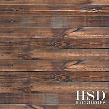 Photography Floor Drop, Faux Wood Photography Backdrop, Dark Floordrop 5ft x 5ft
