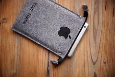 nouvel iPad & Air Housse De Protection Sac FAIT À LA MAIN Feutre étui Apple