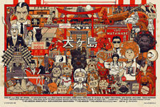 Tyler Stout Isle of Dogs Poster - Regular ed. of 500 - Spoke Art - Wes Anderson